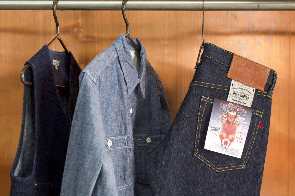 Insider's Information: Burgus Plus x Naked & Famous Denim