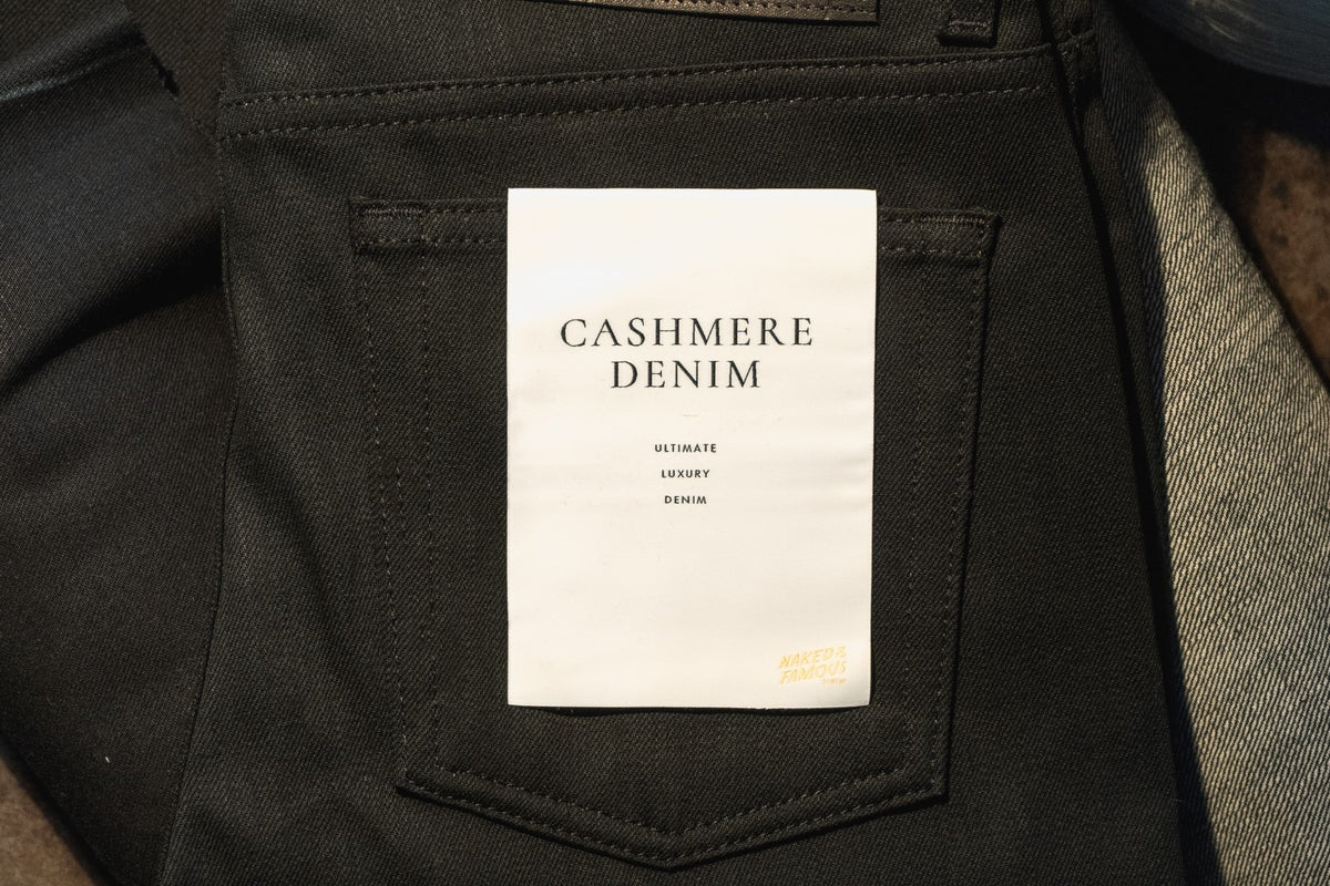 Black Cashmere Denim