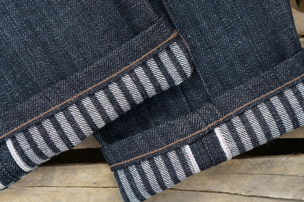 Wear these jeans Day & Night and a railroad stripe appears...