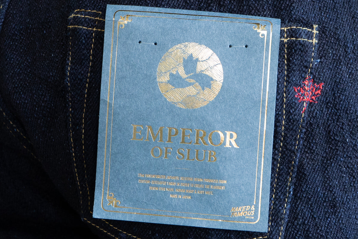The Made in Japan 6 - Emperor Of Slub Grand Blue
