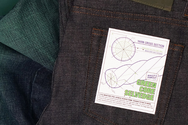 Selvedge Denim Designed To Fade Green!