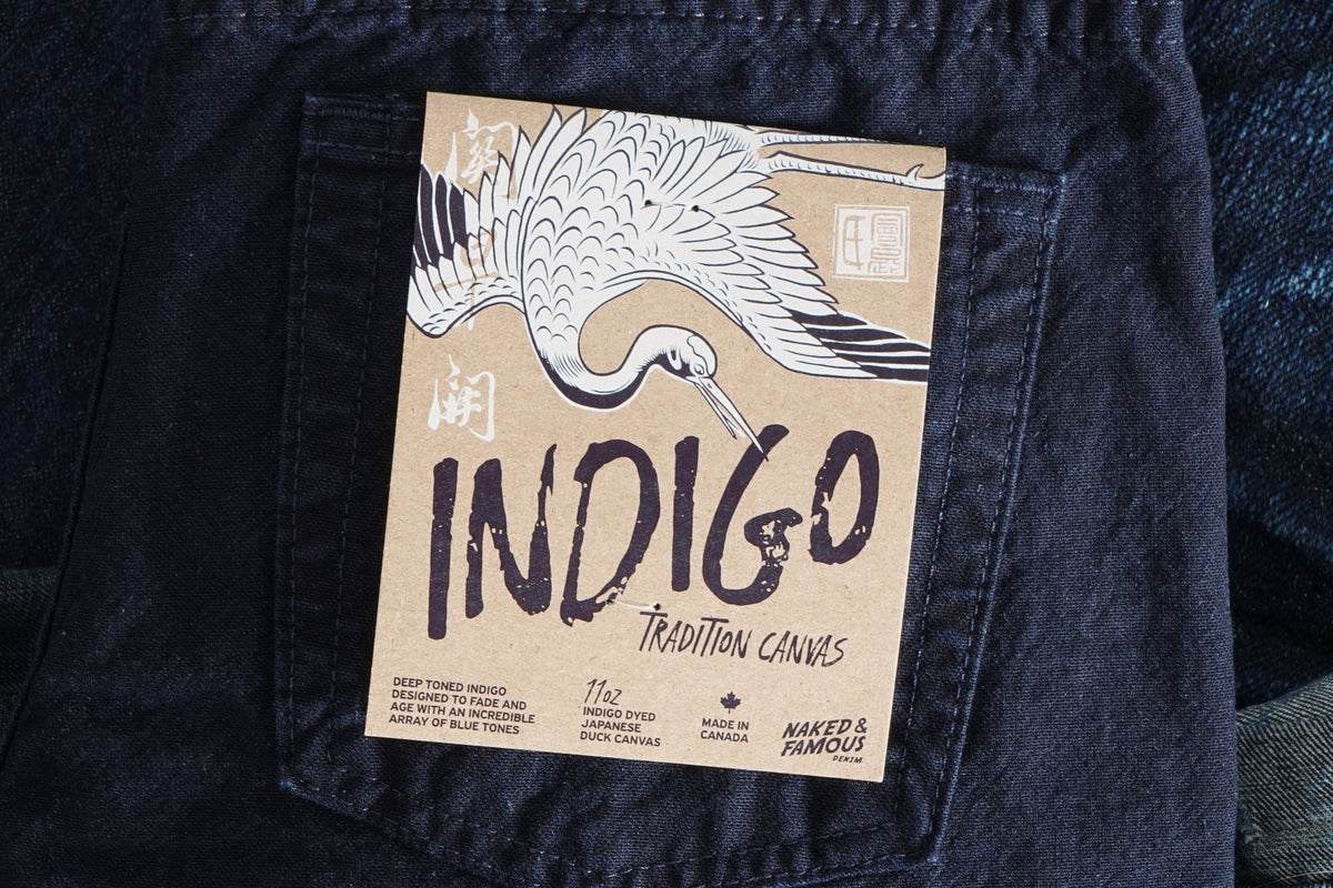 Indigo Tradition Canvas