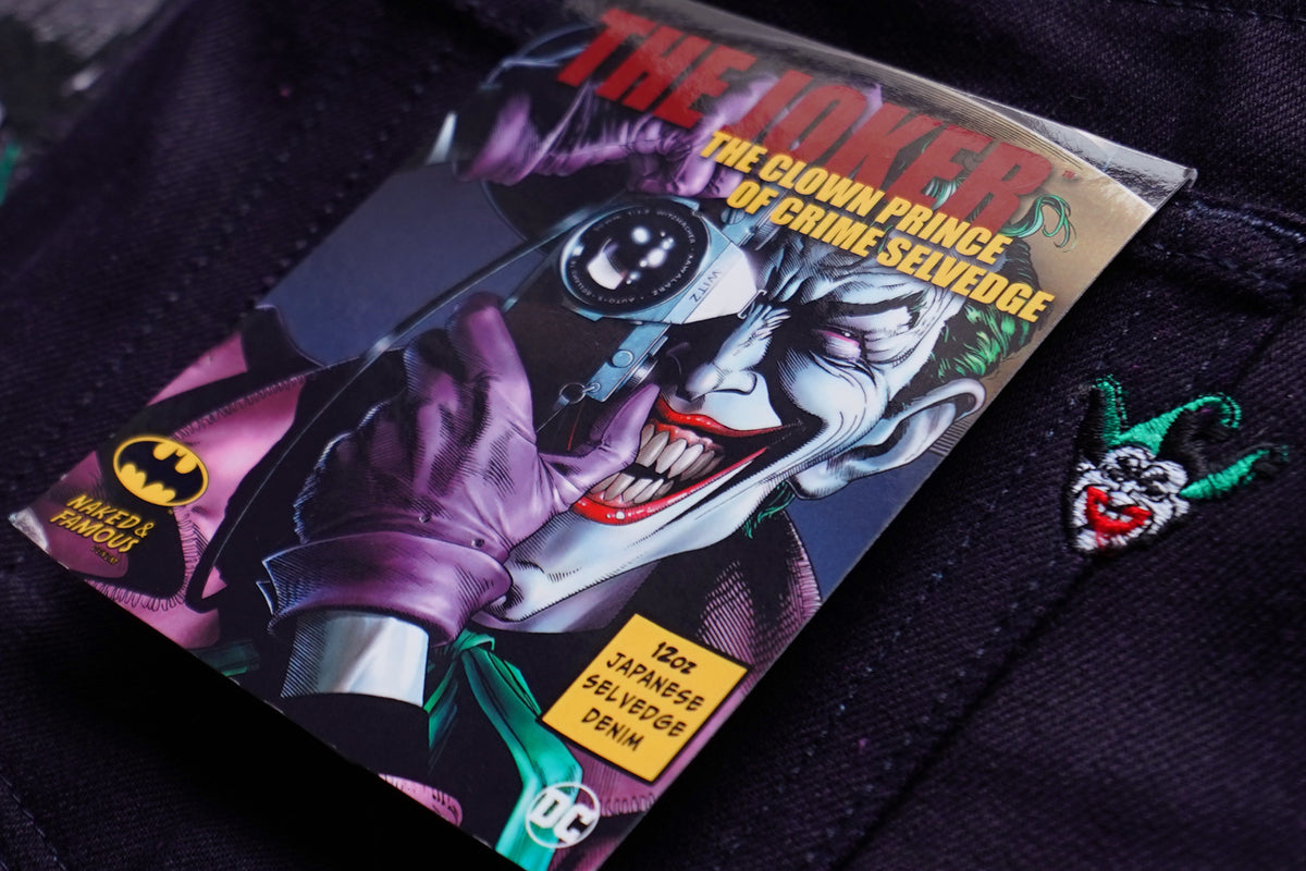 Joker The Clown Price Of Crime Selvedge