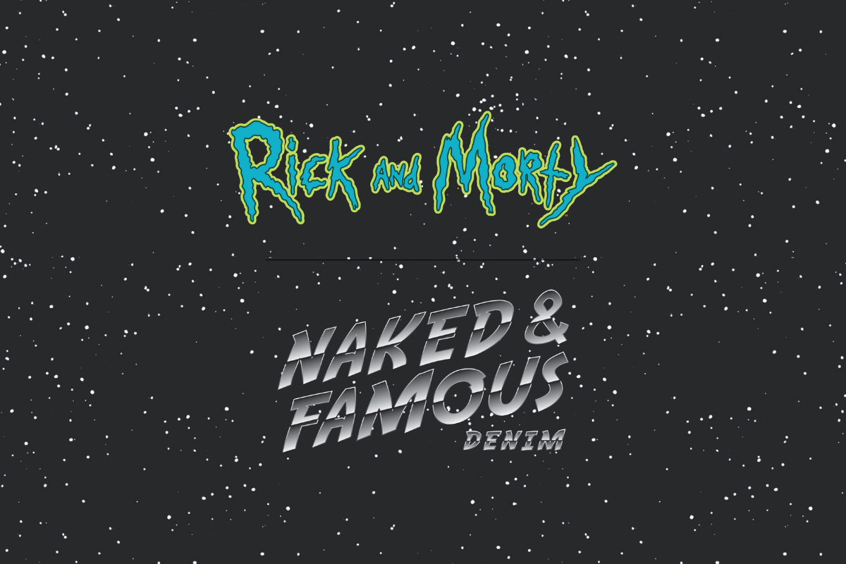 Rick and Morty x Naked & Famous Denim Capsule Collection