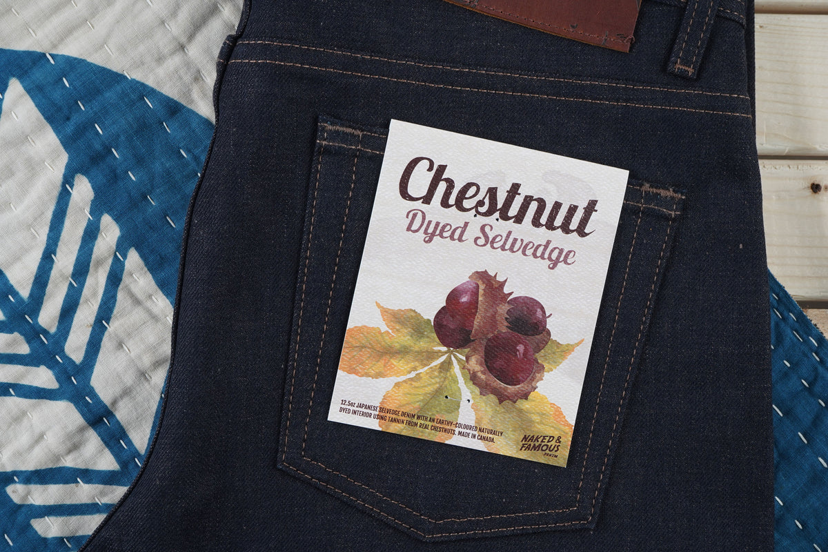 Chestnut Dyed Japanese Selvedge Denim