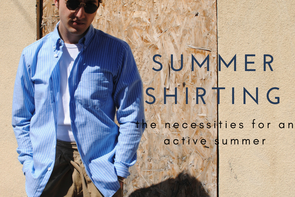 You have your summer denim... Now you need shirts.