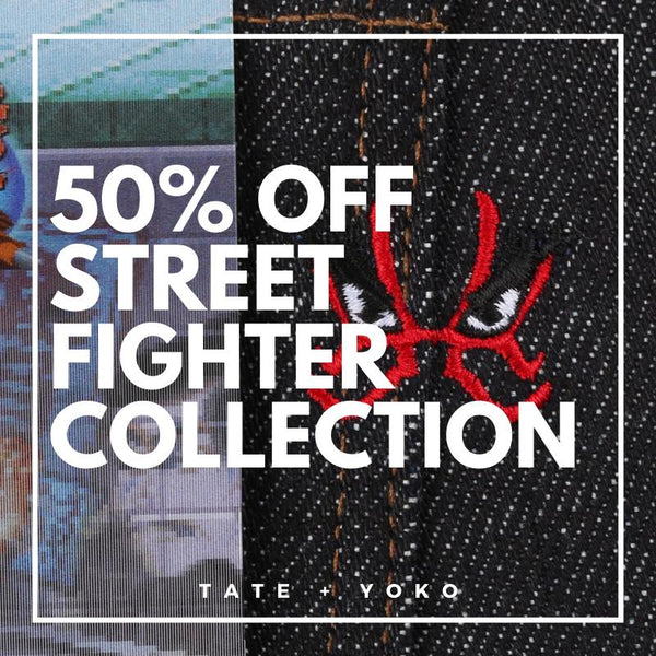 Naked & Famous Denim - Street Fighter™ Collaboration