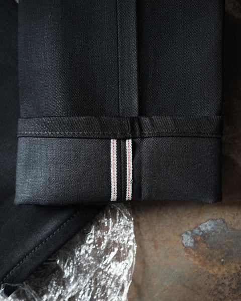 Black Cobra Stretch Selvedge Selvedge Cuff ID