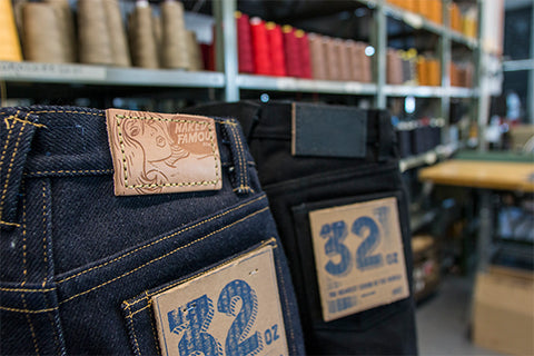 Naked & Famous Denim Super Heavyweight 32oz Selvedge Denim
