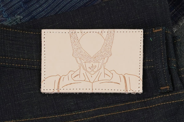 Cell Perfect Selvedge - Leather Patch