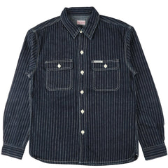 The Flat Head - 7014W Work Shirt - Wabash Indigo Dyed