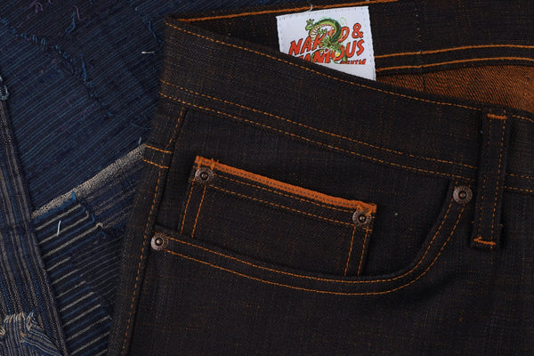 Goku Super Saiyan Selvedge - Coin Pocket