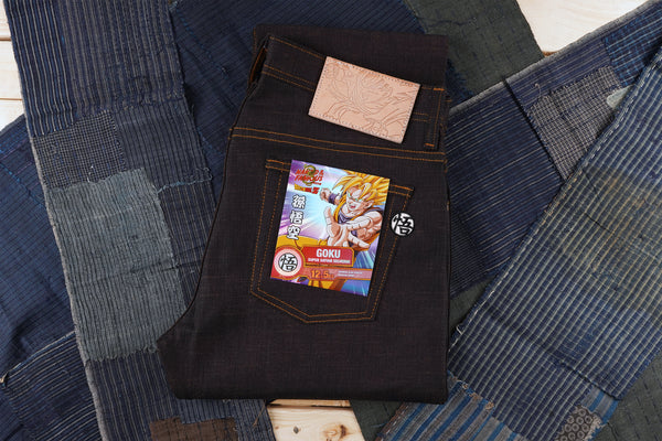 Goku Super Saiyan Selvedge - Folded Flat