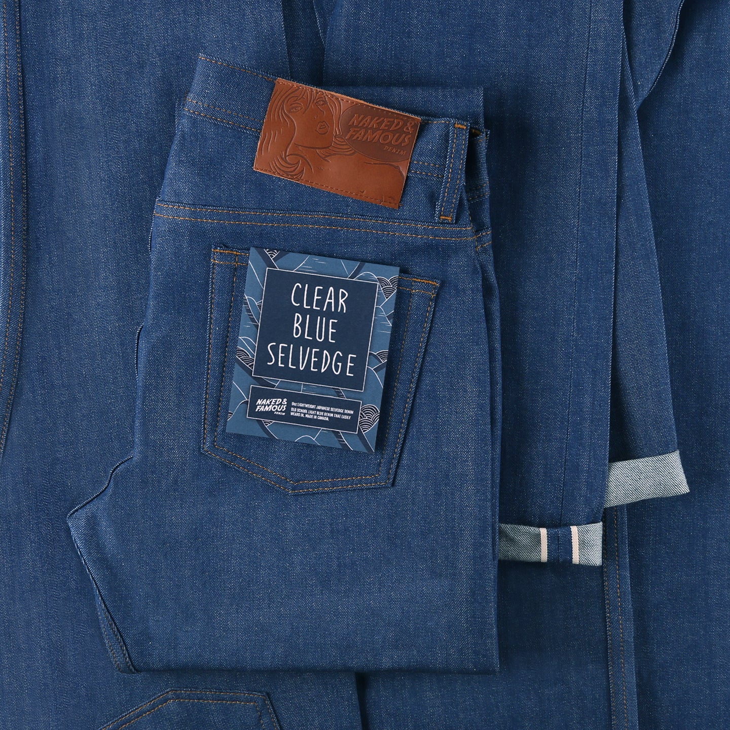 Clear Blue Selvedge by Naked & Famous Denim | Tate + Yoko