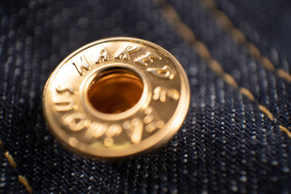 Real Gold Selvedge - Button