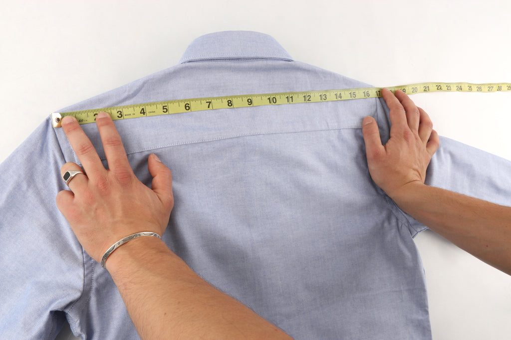 How To Measure Your Shirt Guide