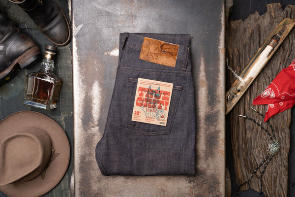 True Grit Selvedge - Folded Flat