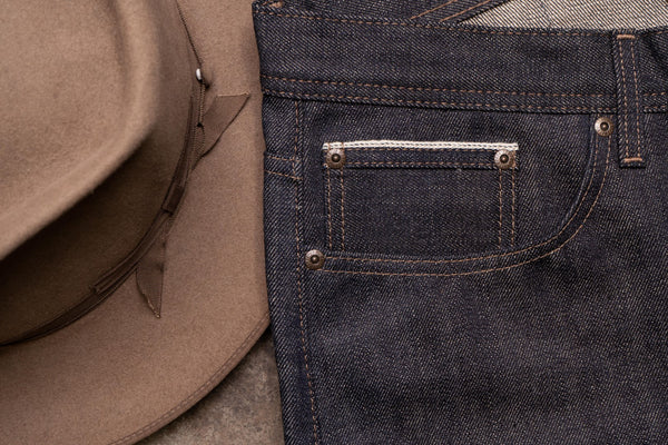 True Grit Selvedge - Coin Pocket