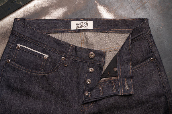 True Grit Selvedge - Button Fly