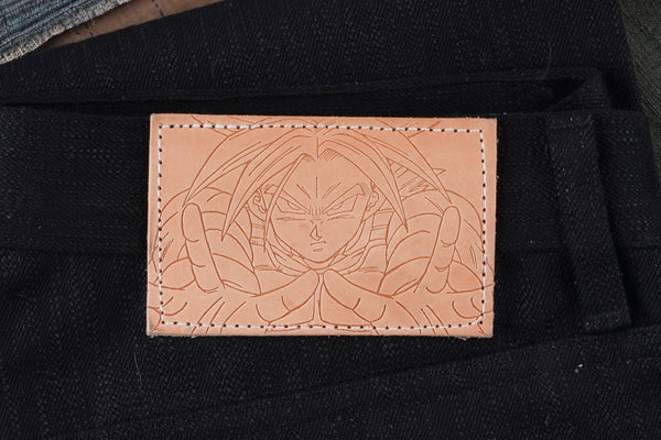 Trunks Future Selvedge - Leather Patch