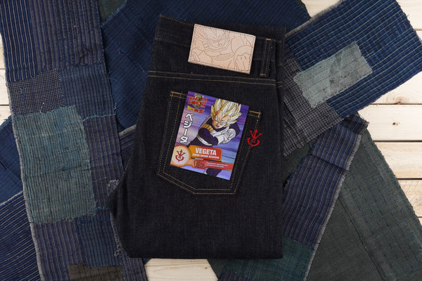 Vegeta Super Saiyan Selvedge - Folded Flat