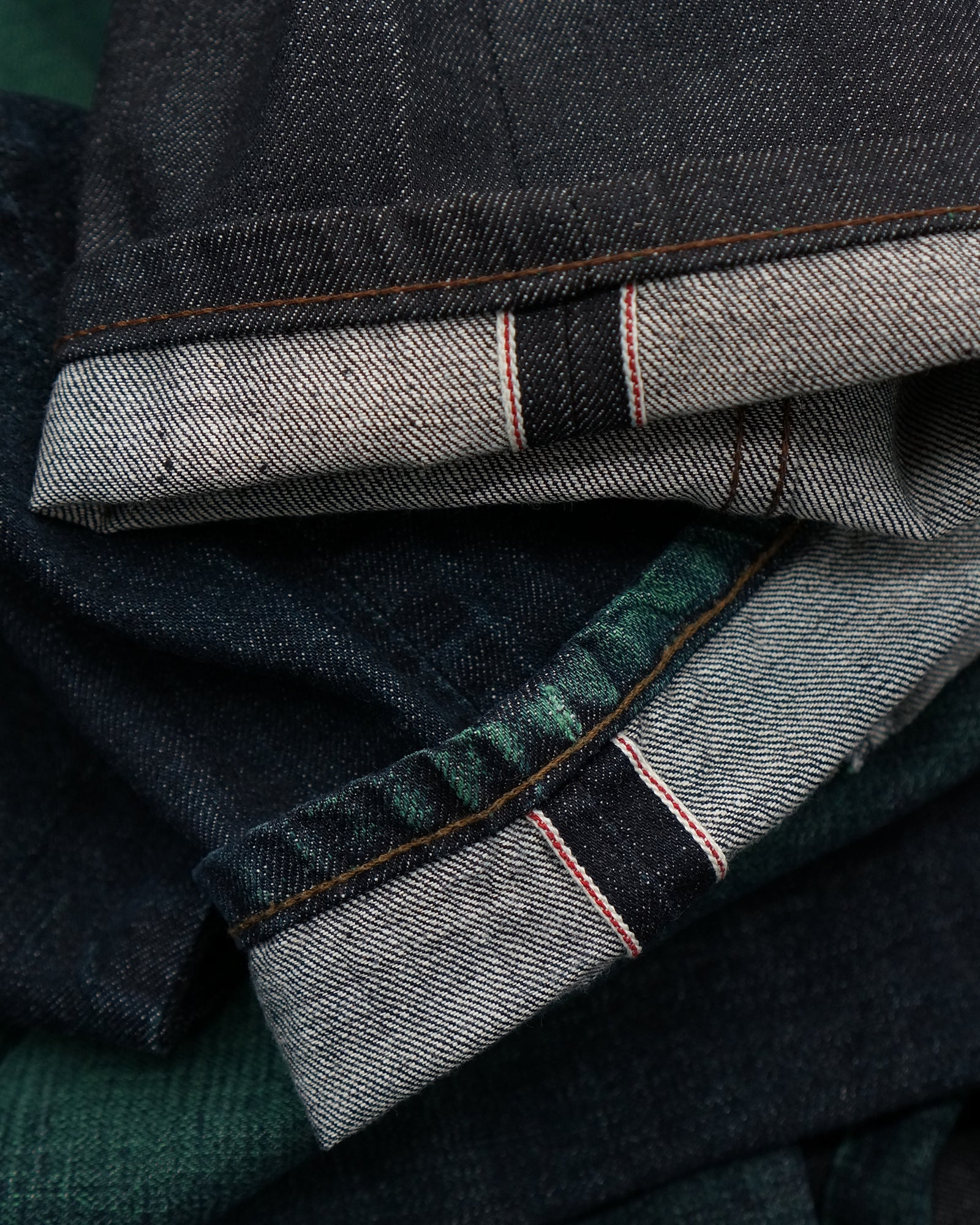 Green Core Selvedge by Naked & Famous Denim