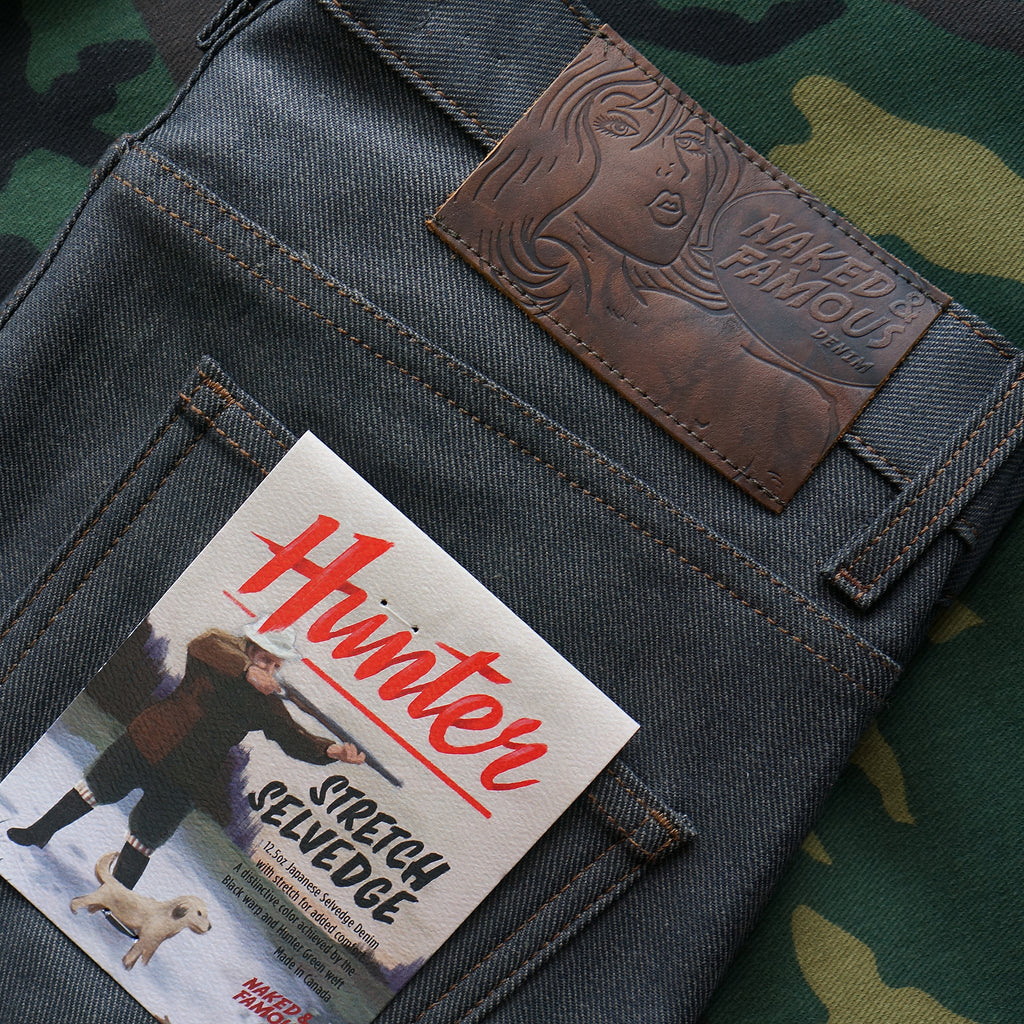 Hunter Stretch Selvedge By Naked & Famous Denim