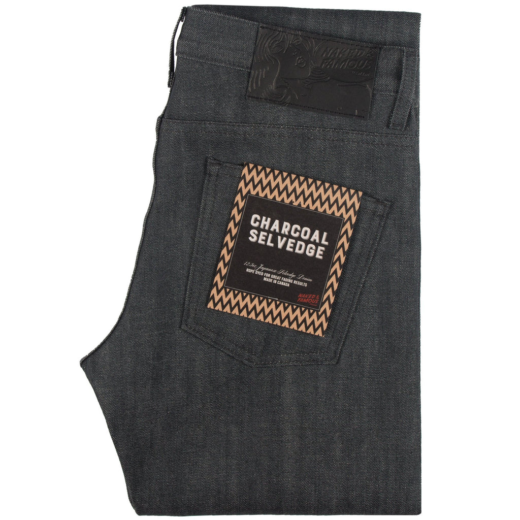 Skinny Guy - Charcoal Selvedge