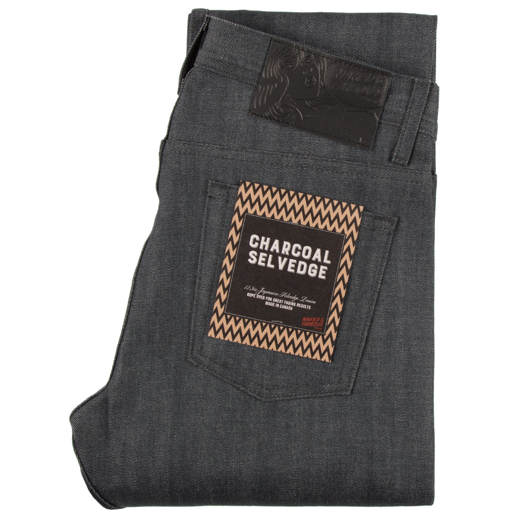 Weird Guy - Charcoal Selvedge
