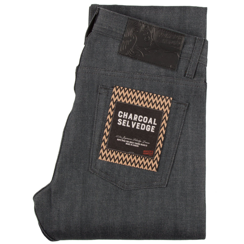 Charcoal Selvedge by Naked & Famous Denim