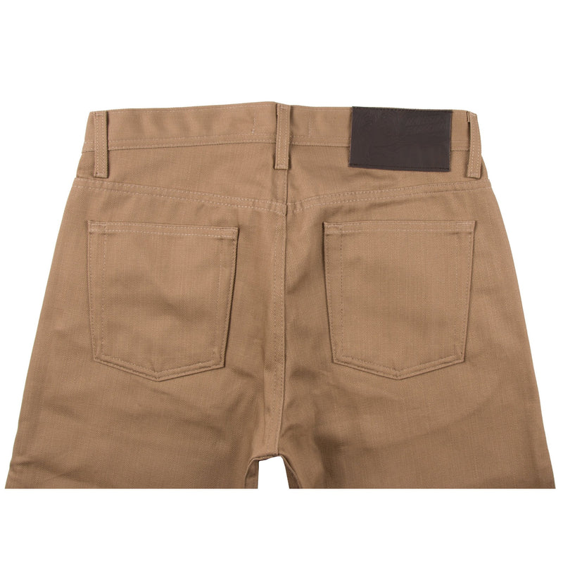 Weird Guy - Beige Selvedge Chino