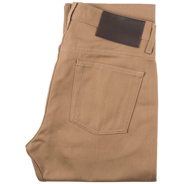 Beige Selvedge Chino by Naked & Famous Denim
