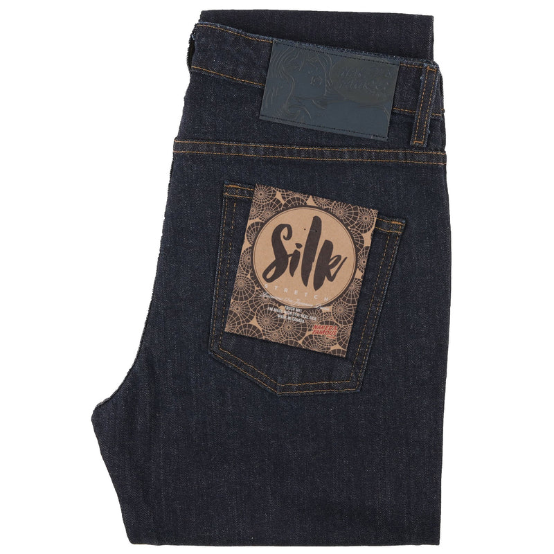 Super Guy - Silk Stretch Denim - folded