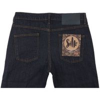Super Guy - Silk Stretch Denim - back