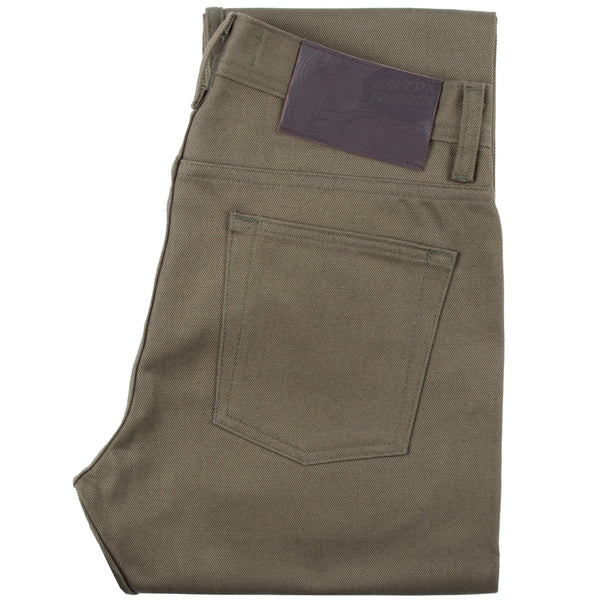 Khaki Selvedge Chino by Naked & Famous Denim