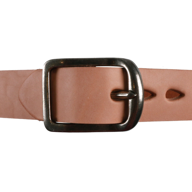 Thick Belt - 7mm Bovine Leather - Natural Tan Media 2 of 2