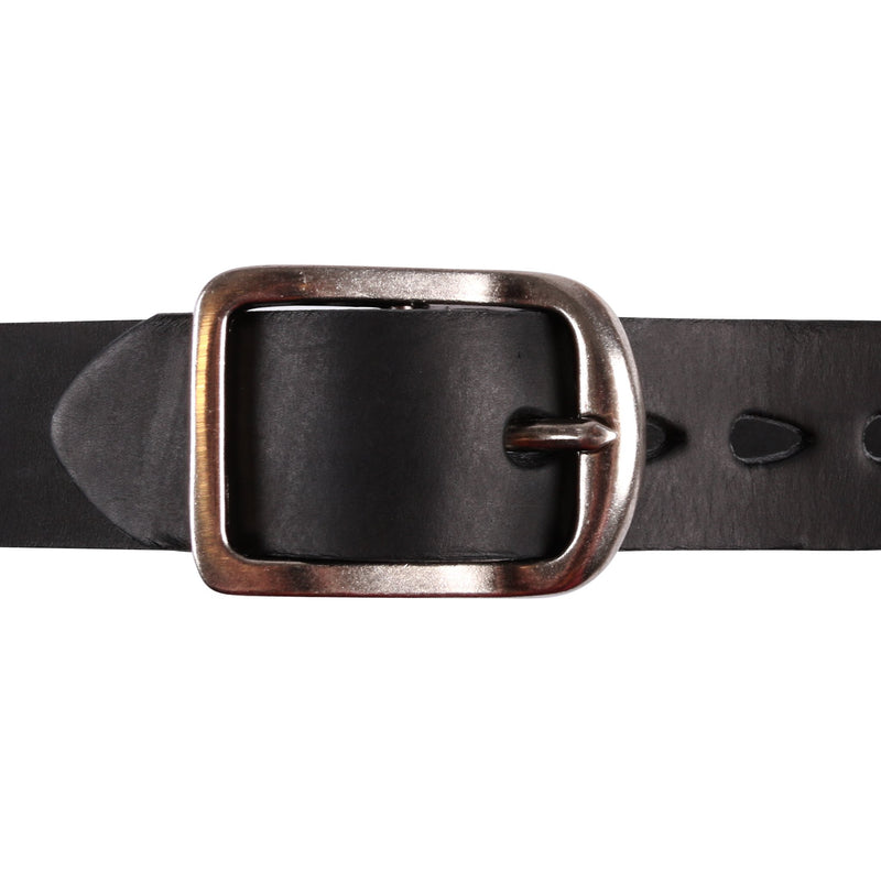 Thick Belt - Thick Bovine Leather - Black Media 2 of 2