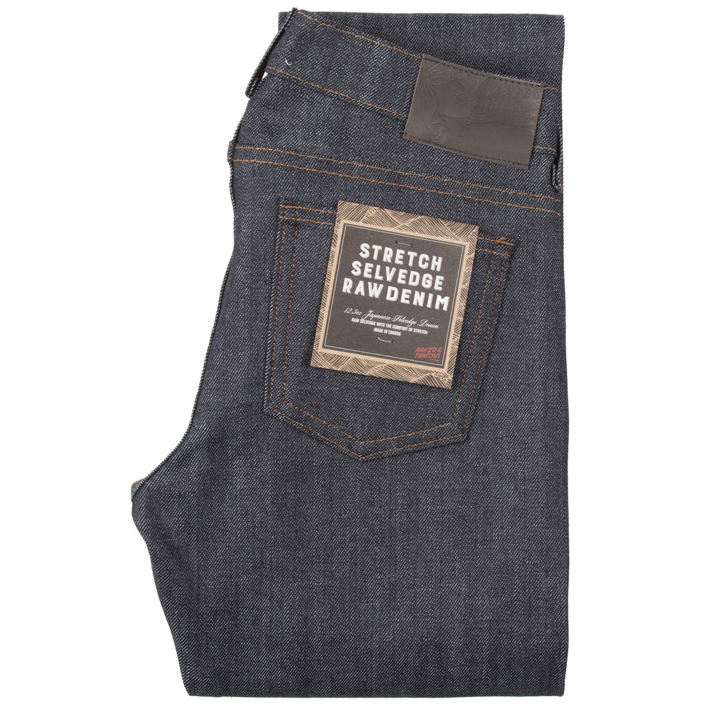 Womens - The Straight - Stretch Selvedge Raw Denim