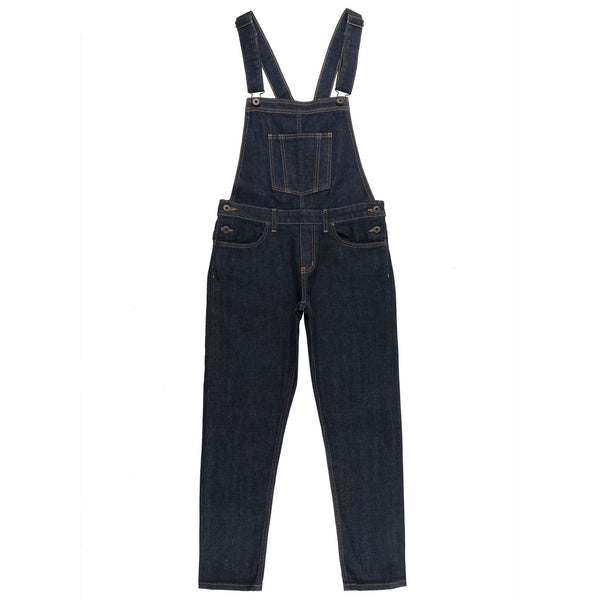 Women's - Overalls - 11oz Stretch Selvedge - frontWomen's - Overalls - 11oz Stretch Selvedge Media 3 of 5
