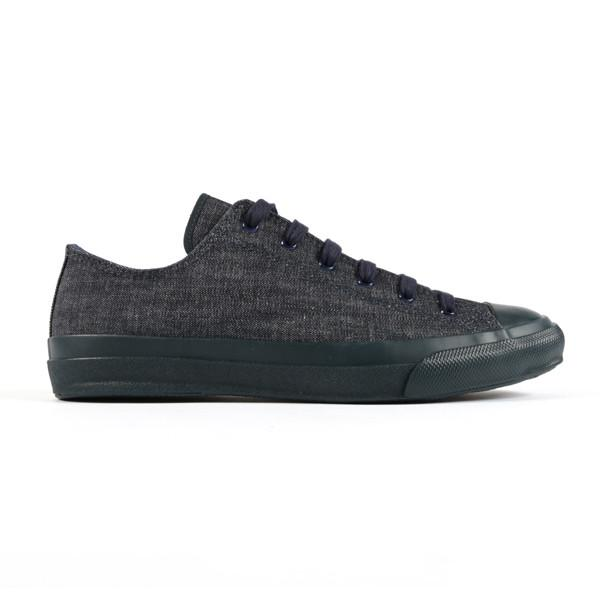 Japan Sneakers - Indigo Slub Denim