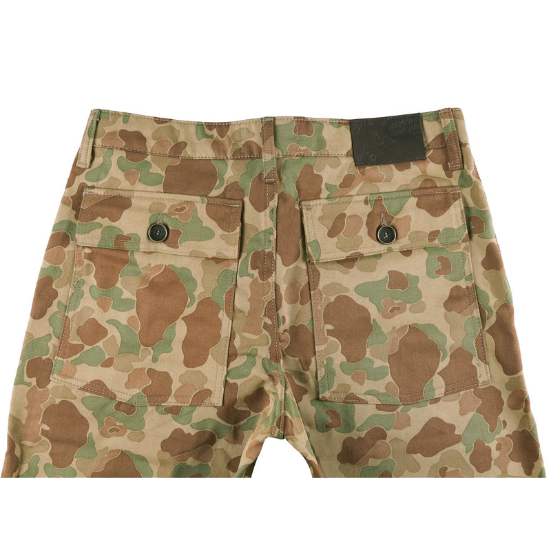 Work Pant - Double Sided Camo - Green - back