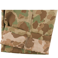 Work Pant - Double Sided Camo - Green - hem