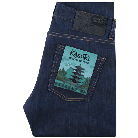 Super Guy - Kasuri Stretch Selvedge