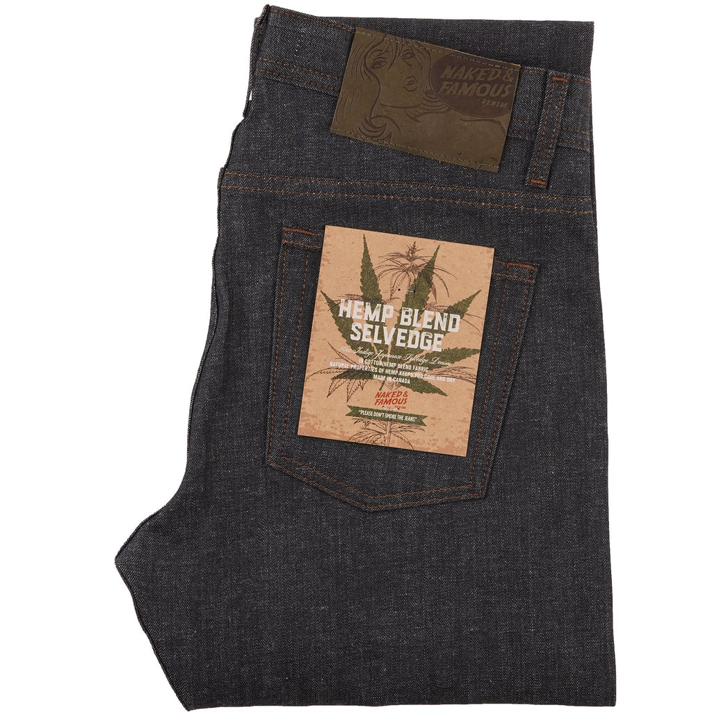 Weird Guy - Hemp Blend Selvedge - MAIN
