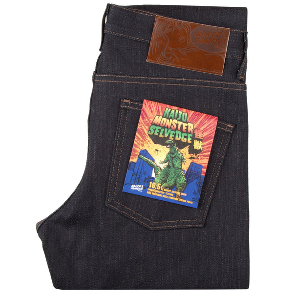 Super Guy - Kaiju Monster Selvedge