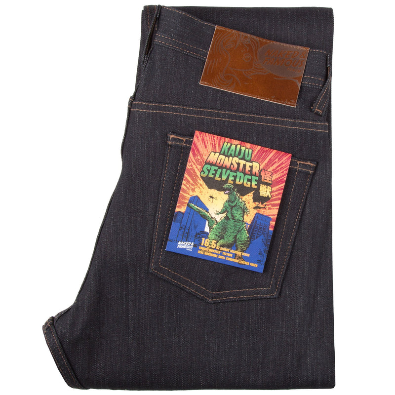 Weird Guy - Kaiju Monster Selvedge