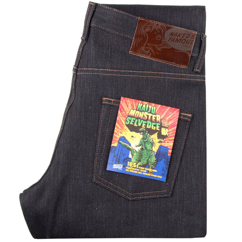 Kaiju Monster Denim by Naked & Famous Denim