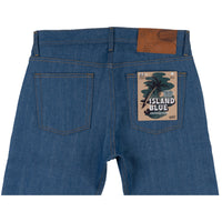 Weird Guy -  Island Blue Stretch Selvedge - back