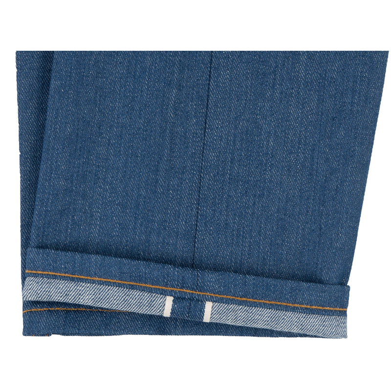 Weird Guy -  Island Blue Stretch Selvedge - hem