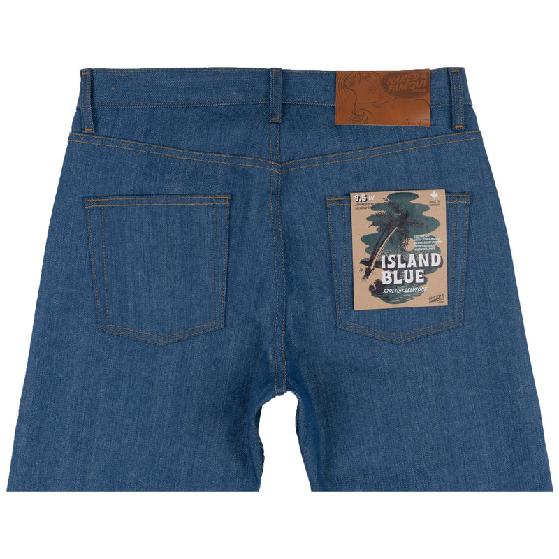 Easy Guy -  Island Blue Stretch Selvedge - back